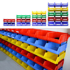 Components Tool Plastic Storage Parts Stackable Stacking Nest Bins Workshop Box
