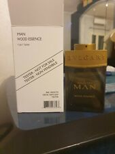 BULGARI MAN WOOD ESSENCE PROFUMO UOMO EDP 100ML VAPO Perfume Men natural spray