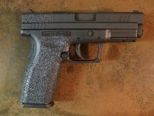 Black Textured Rubber Grips for the Springfield Armory XD .45 ACP Standard Grip