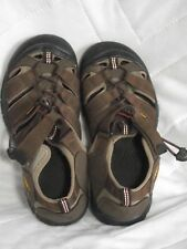 KEEN Women's Size 6 Sandals, Brown, Waterproof EUC.