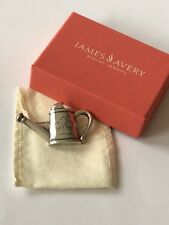 James Avery Retired Sterling Silver Watering Can Pin