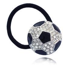Soccer Sports Ball Charm Ponytail Elastic Hair Tie Holder Soccer Girl Gift  hp41