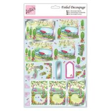Docrafts Anitas Decoupage Foiled - Relax in the Garden