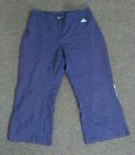 Purple 2003 embroidered 3/4 shorts women's - Size 12  21 inch inside leg