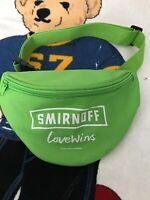 Smirnoff love wins Vodka Promotional Swag Fanny Pack Bum Festival Travel Beach