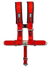 Racing 5 Point Red Safety Belt Race Harness rock crawler jeep  bronco toyota usa
