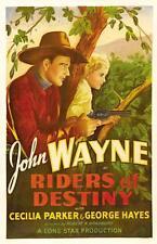RIDERS OF DESTINY 1933 Music Romance Western Movie Film INSTANT WATCH John Wayne