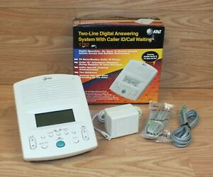 Genuine AT&T (1782) Two Line Digital Answering System w/ Caller ID/Call Waiting