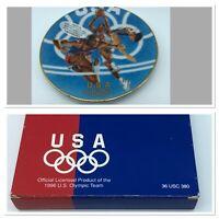"1996 Atlanta Centennial Olympics Avon ""Team USA"" Commemorative Plate"