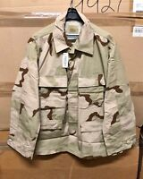 GENUINE US ARMY 3/ COLORS DESERT DCU SHIRT RIP STOP BRAND NEW !!!! X-LARGE LONG