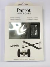 Parrot PF070239AB Minidrone Battery Pack and Charger retail pack