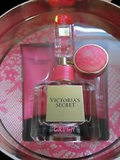 VICTORIA SECRET CRUSH PERFUM 4 PIECES SET FOR WOMEN - NEW- OPEN BOX -GREAT PRICE