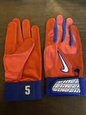 David Wright PE Game Used Worn ISSUED Nike Batting Gloves - New York Mets