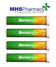 New Original Berocca Vitamin B Orange Flavoured Effervescent 60 Tablets