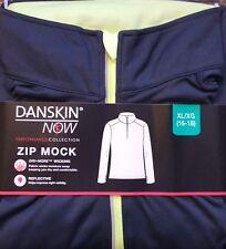 "Women's 1/2 Zip Jersey Jacket XL 16-18 **FREE SHIP in USA**  ""NEW in PACKAGE"""