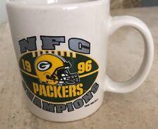 Green Bay Packers Super Bowl XXXI NFC Champions 1996 97 Coffee Cup Mug