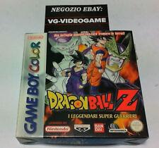 DRAGON BALL Z I LEGGENDARI SUPER GUERRIERI GAME BOY COLOR  NUOVO!!!
