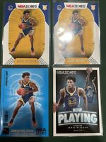 James Wiseman Rookie Lot: Hoops RC X2, Inserts, Prizm Draft, Holo (9) Card 📈🔥