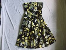 Only me by Laura Aime, Black and yellow dress, size M
