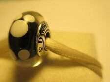 Authentic New Pandora Silver 925ALE Disney Mickey Mouse Murano Glass Bead Charm