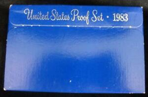 1983 United States Proof Set * 5 Coins * In Original Box * Great Birthday Gift!