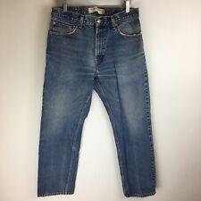 Levis Jeans - 505 Regular Fit Distressed Wash - Tag Size: 33x30 (31x29) - #3698
