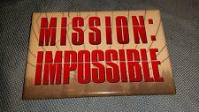 MISSION: IMPOSSIBLE Movie promo button / pin 1996 RARE cruise