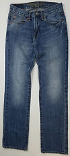 American Eagle Jeans Straight Leg Sttretchy Mid-rise Denim Skinny Jeans 29x32