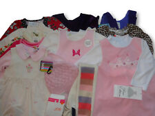 19 pcs Lot of Girls' Size 12 - 24 months Winter Clothes Dresses Snowpants Tees