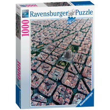 Ravensburger Barcelona From Above 1000 Piece Jigsaw Puzzle