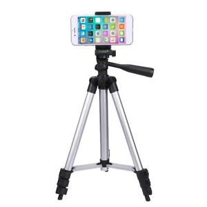 Universal Smart Phone Camera Tripod Stand Mount Holder+Bag for iPhone Samsung