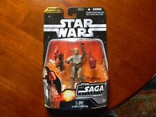 Star Wars The Saga Collection C-3PO w Battle Droid Head #17. NIB