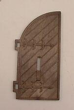 Playmobil Moyen Age piéce détachée grande porte bois du chateau