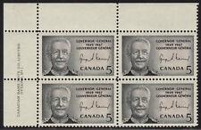 CANADA #474 5¢ Georges Vanier UL Plate Block MNH