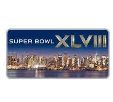 Super Bowl XLVIII Denver Broncos Seattle Seahawks NFL Football 2014 Pin skyline