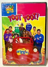The Wiggles Toot Toot! New Sealed DVD Rare OOP 2007