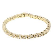 Handmade Yellow Gold Fine Diamond Bracelets