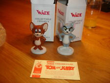 WADE LIMITED EDITION SET OF TOM AND JERRY.  BNIB