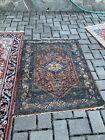 "vintage persian rug 4' 6"" x 3' 5"""