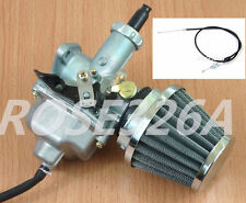 Carburetor W/ Throttle Cable & Air Filter ATC200 ATC200E ATC200ES ATC200S
