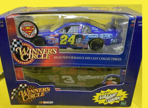 Winner's Circle Jeff Gordon Superman - Dale Earnhardt Value Pack 1:24