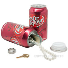 Dr Pepper Soda 12oz Can Diversion Safe- Secret Hidden Stash Hide in Plain Sight