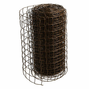 Climbing Plant Support Mesh Plastic Garden Net Clematis Trellis Brown, 0.5m x 5m