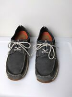 Clarks Structured Blue Nubuck Mens Shoes Size 10.5M Pre-Owned