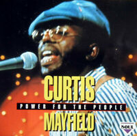 Mayfield, Curtis-Power For The People CD   Very Good