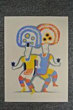 SIGNED Carlos Merida Dances of Mexico lithograph 1939