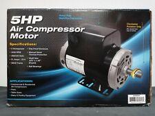 108348 5 Hp 3450 Rpm Air Compressor 60 Hz Electric Motor 208 230 Volts New