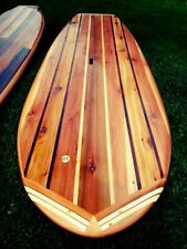 Build Your Own 8' Hollow Wooden Stand-Up Paddle Board Wood SUP Plans/Blueprints