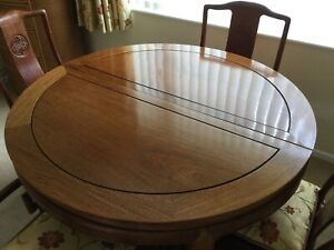Bespoke Rosewood Dining Table and 8 Chairs