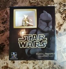 Clone Trooper COMMANDER Deluxe Collectible Bust /7500 STAR WARS Gentle Giant MIB